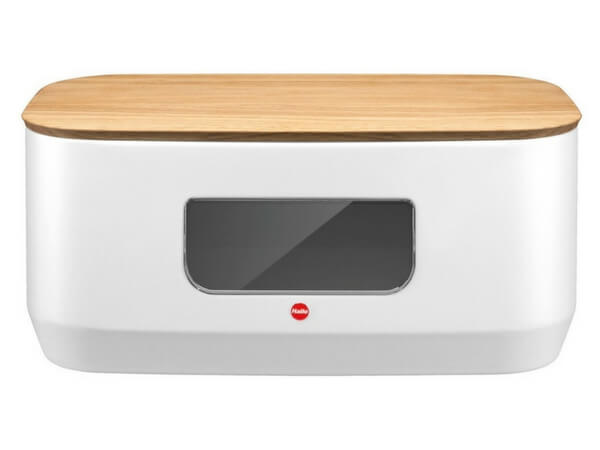Hailo, Kitchen Design Bread Bin - Matt White