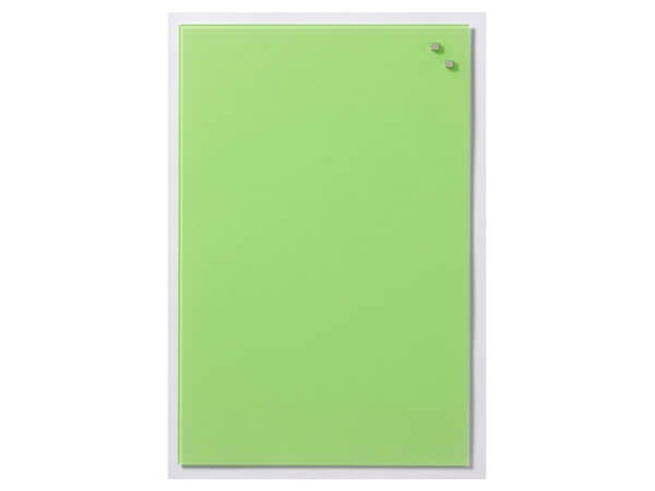 NAGA, Magnetic Glass Board - AQUA GREEN 40 x 60 cm