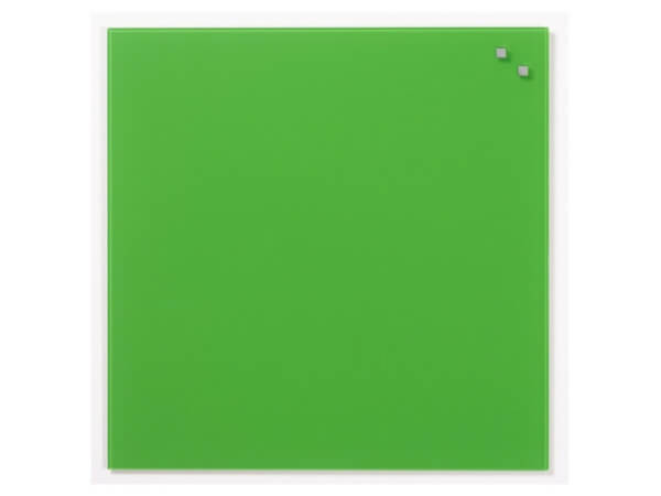 NAGA, Magnetic Glass Board - AQUA GREEN 45 x 45 cm