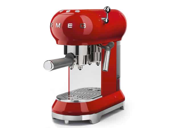 smeg cream espresso red 1