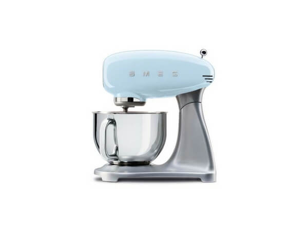 smeg retro stand mixer blue 1