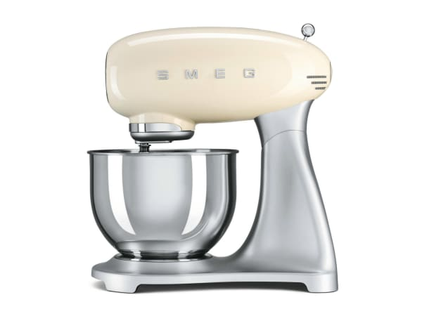 smeg retro style stand mixer cream