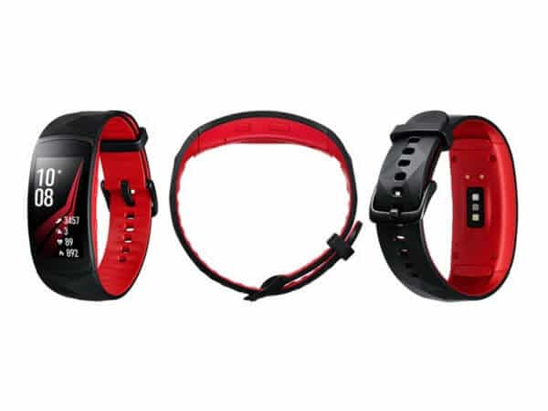 samsung gear fit2 pro multi red